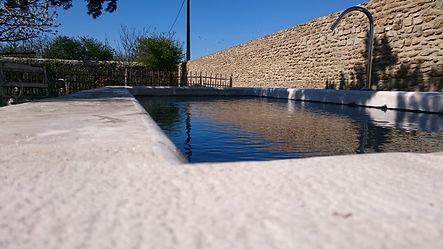 margelle en pierre naturelle