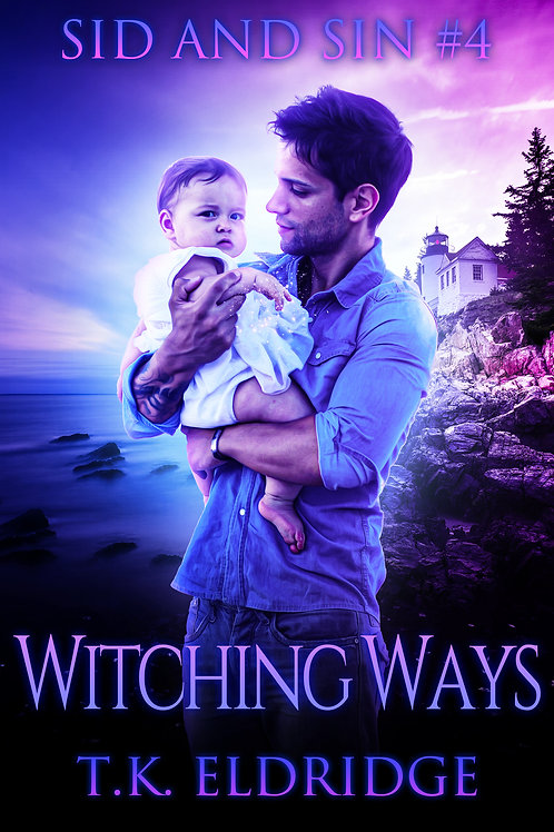 Autographed paperback of Witching Ways