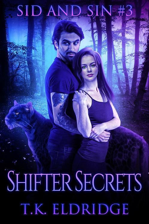 Autographed paperback of Shifter Secrets