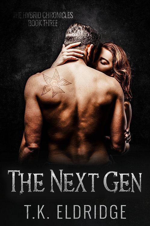 Autographed paperback of The Next Gen