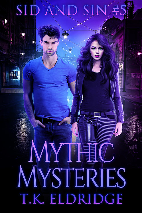 Autographed paperback of Mythic Mysteries