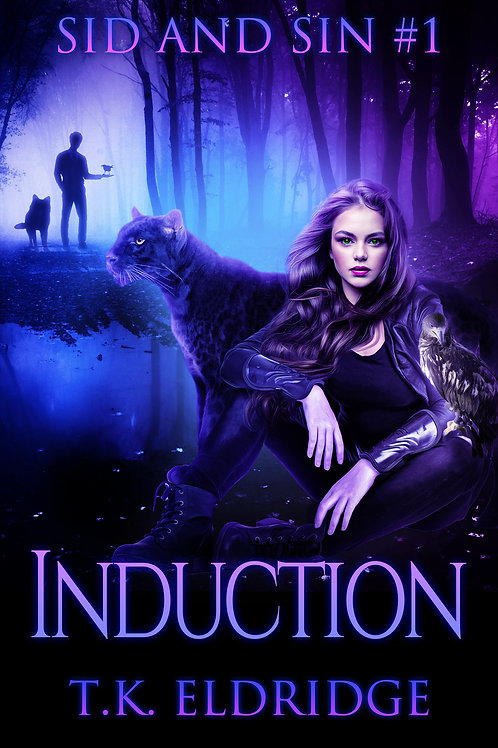 Autographed paperback of Induction