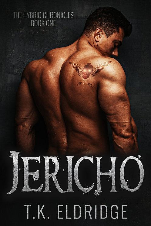 Autographed paperback of Jericho