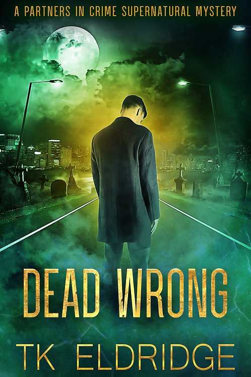 Autographed paperback of Dead Wrong