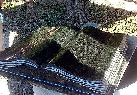 Надгробие книга фото Эконом памятник Купола с профильной резкой Солнечногорск