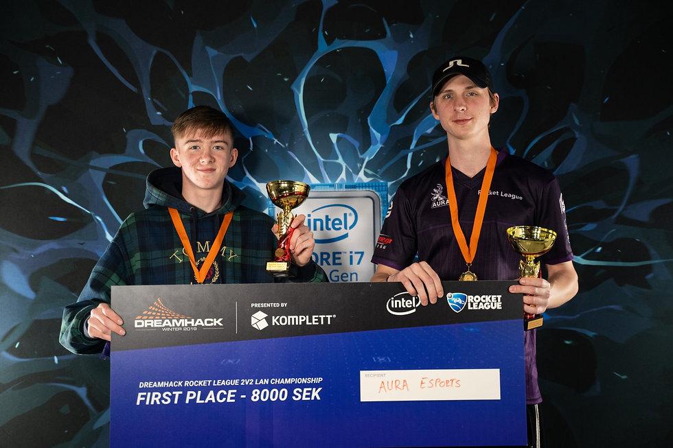 Dreamhack 2v2 Rocket League - 1st Place.