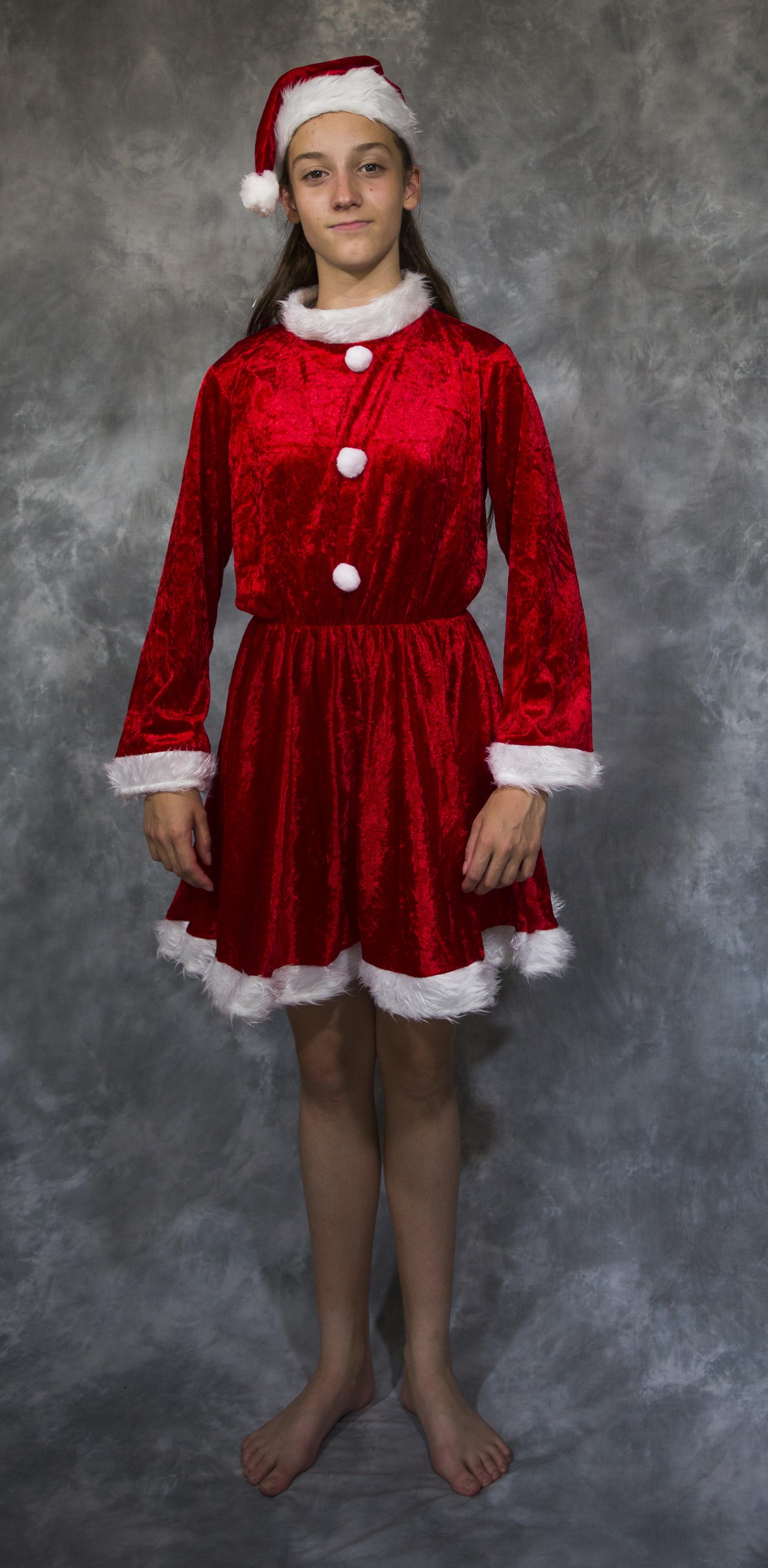 Little Miss Santa