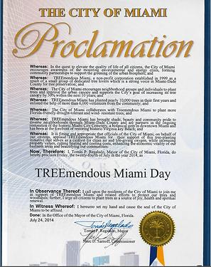 TREEmendous Miami Day! – July 24, 2014