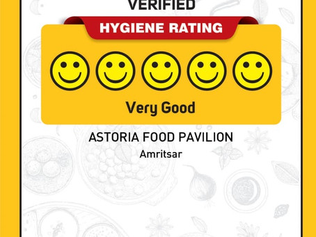 Five smiles for our customers!