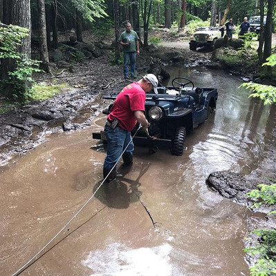 Fun in the NH mud...only took a few minu