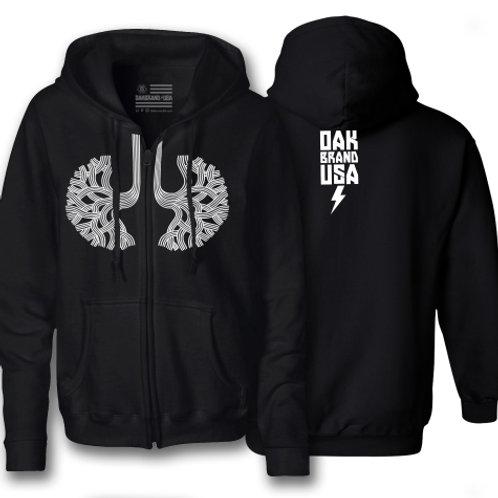 Oaklungs ® Zip-Up Hoodie