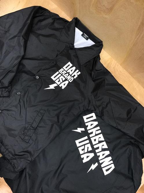Oakbrand USA Coach jacket -black
