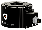 Medusa force torque sensor product image with side connector configuration