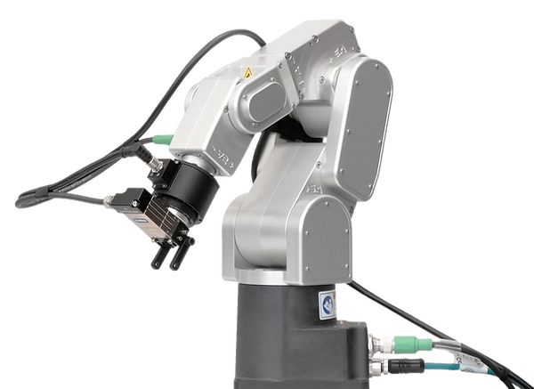 Rokubi multi axis force torque sensor integrated with a meca500 robot
