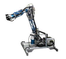 Chiron robot with custom force torque sensor