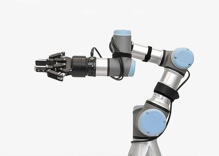 6 axis force torque sensor on a UR3 robot with EOAT gripper