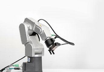 Meca500 robot with Bota System Medusa FT sensor and a gripper EOAT