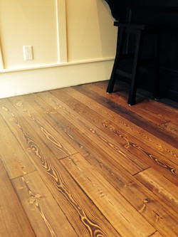 Custom Stained Fir Flooring