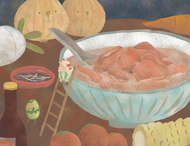 暖暖牛肉湯
