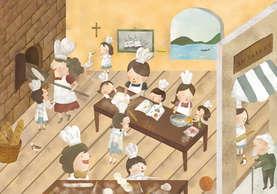 台灣聖心小學 插畫設計