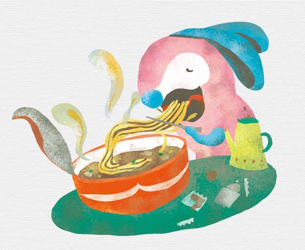 美味的泡麵