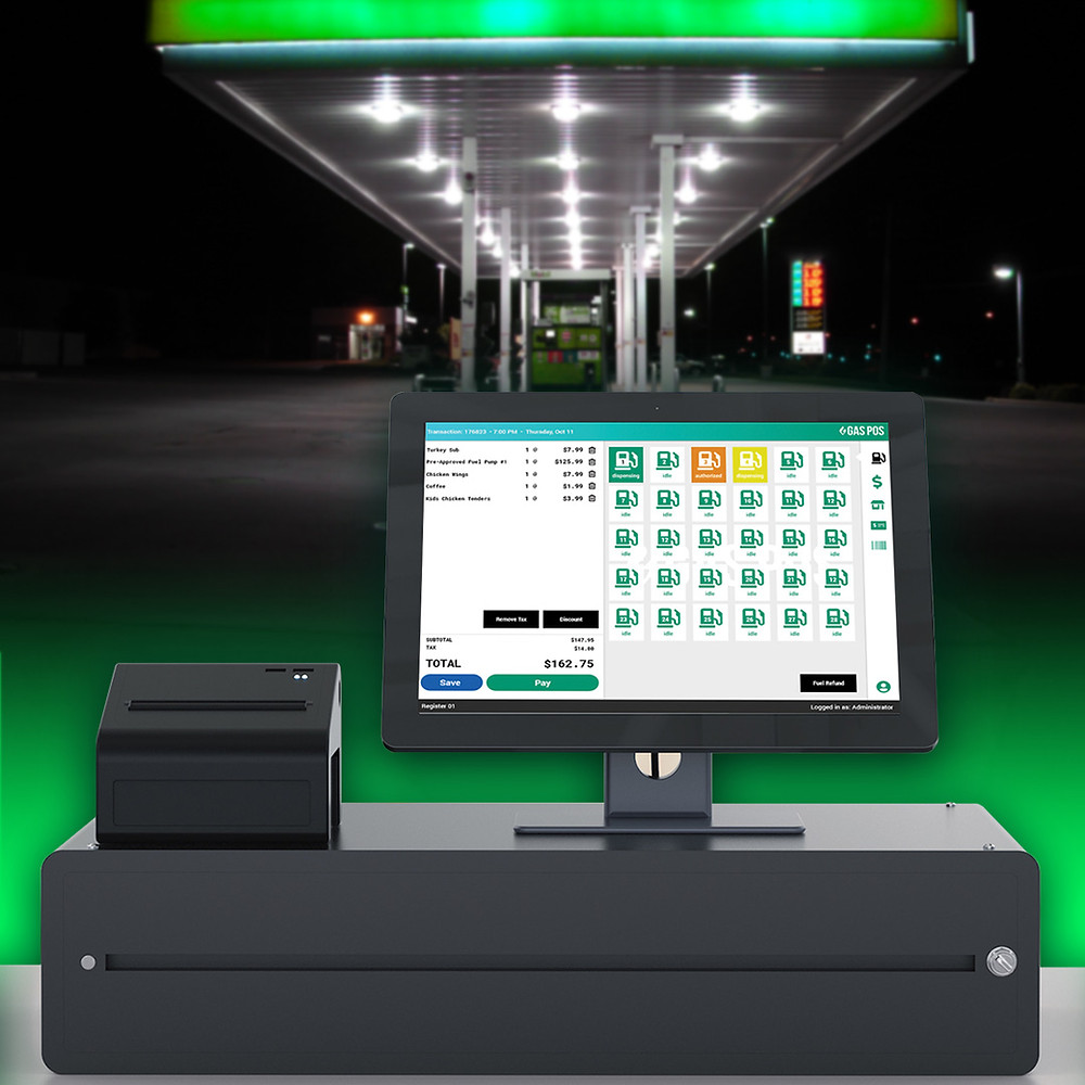 picture of Gas Pos fuel point of sale system