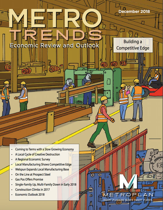 """Gas Pos Offers Promise"", Article in Metroplan's Metrotrends: Economic Review and Outl"