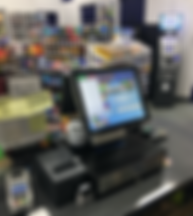 Gas Pos in Convenience Store + Gas Station