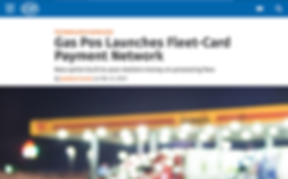 CSP Daily News Covers Gas Pos Truck Stop Point of Sale + Fleet Payment Solution