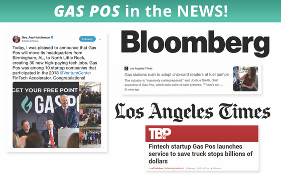 Gas Pos in LA Times, Bloomberg & Fortune