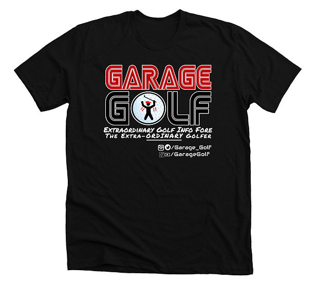 Garage Golf Logo T-Shirt (5 Different Colors)