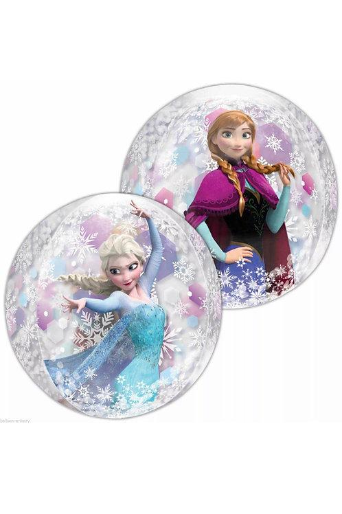 "Frozen Anna and Elsa 15"" orbz"