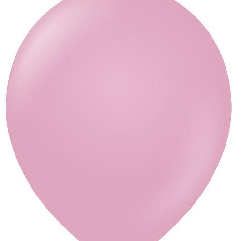 "12"" Pastel Matte Macaroon Dusty Rose Latex Balloon"