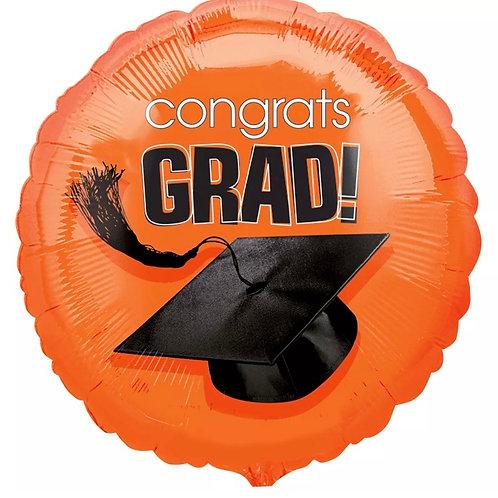 """Congrats Grad 18"""" ( different colors)"""