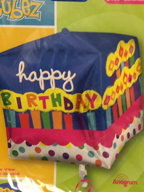 Happy Birthday cube (003)