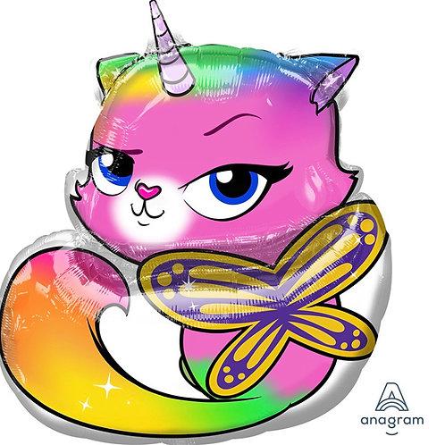 Rainbow Unicorn Balloon