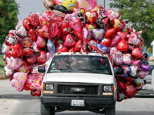 Balloons Pick Up Service