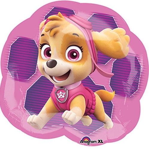 Paw Patrol Girl Mylar Balloon