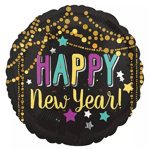 "Festive Happy New Year 18"" Mylar"