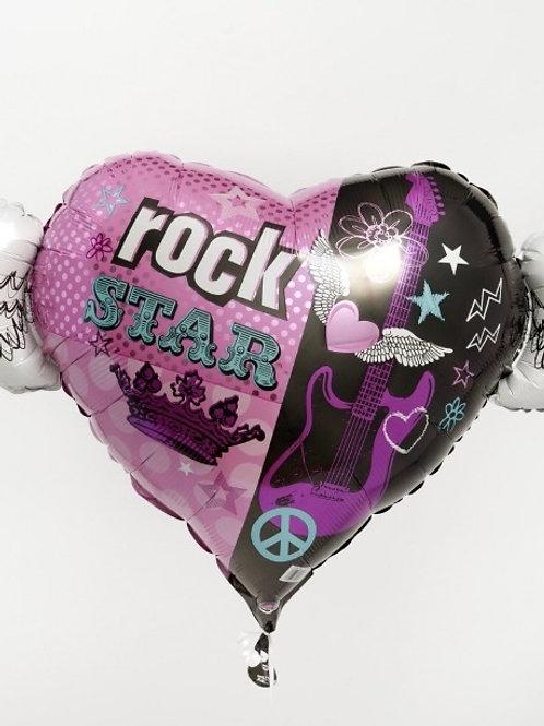 Rock Star Balloon 126