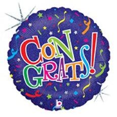 "18"" Congrats Mylar Balloon 059"