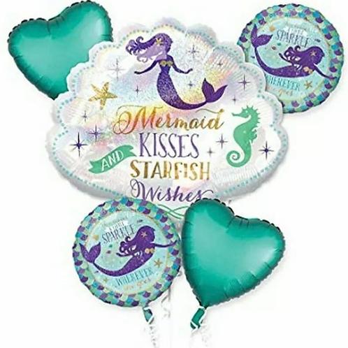 Mermaid Balloon Bouquet