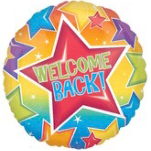 "18"" Welcome Back Balloon 086"