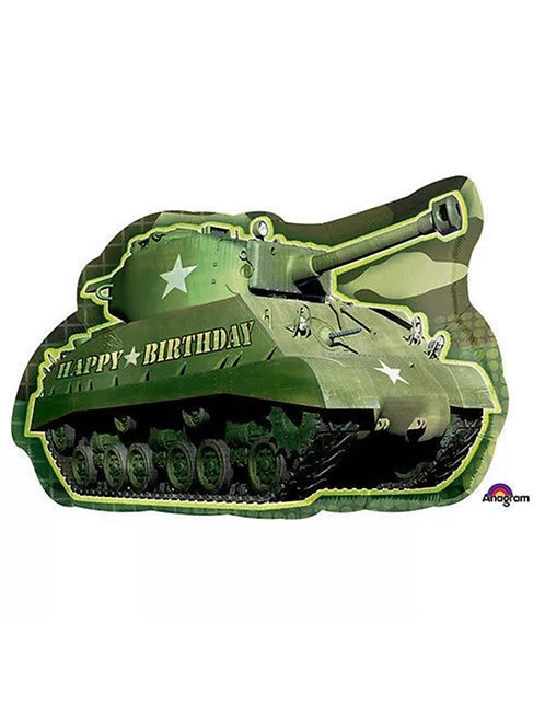 Military Army Tank Happy Birthday
