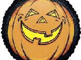 """32"""" Black Border pumpkin"""