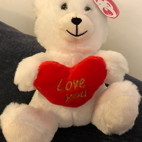 "8"" White Bear"