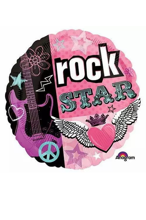 "Rock Star 18"" Mylar"