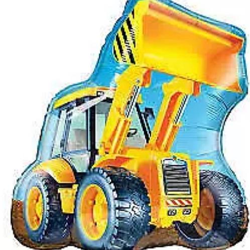 "Construction Loader Bulldozer 32"" Mylar (311)"