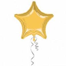 """18"""" foil gold star"""