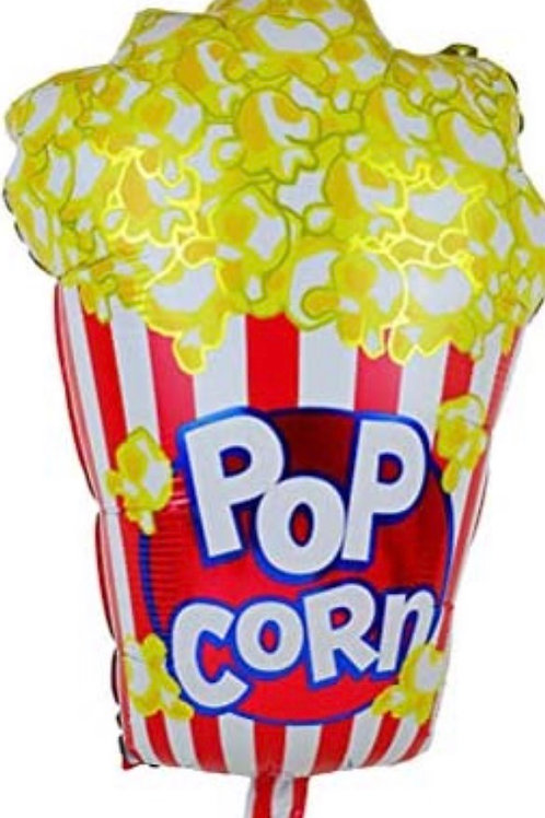 Pop Corn Mylar Balloon